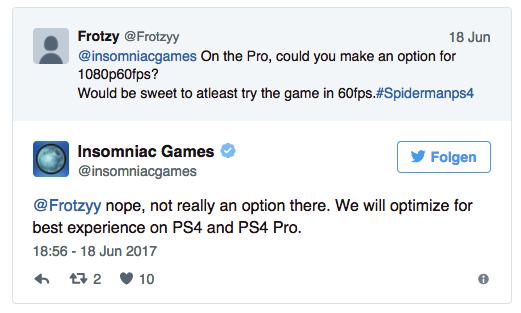 Looks like Spider-Man PS4 won't run in native 4K   Obilisk