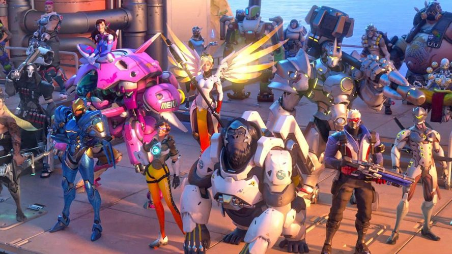 console Overwatch