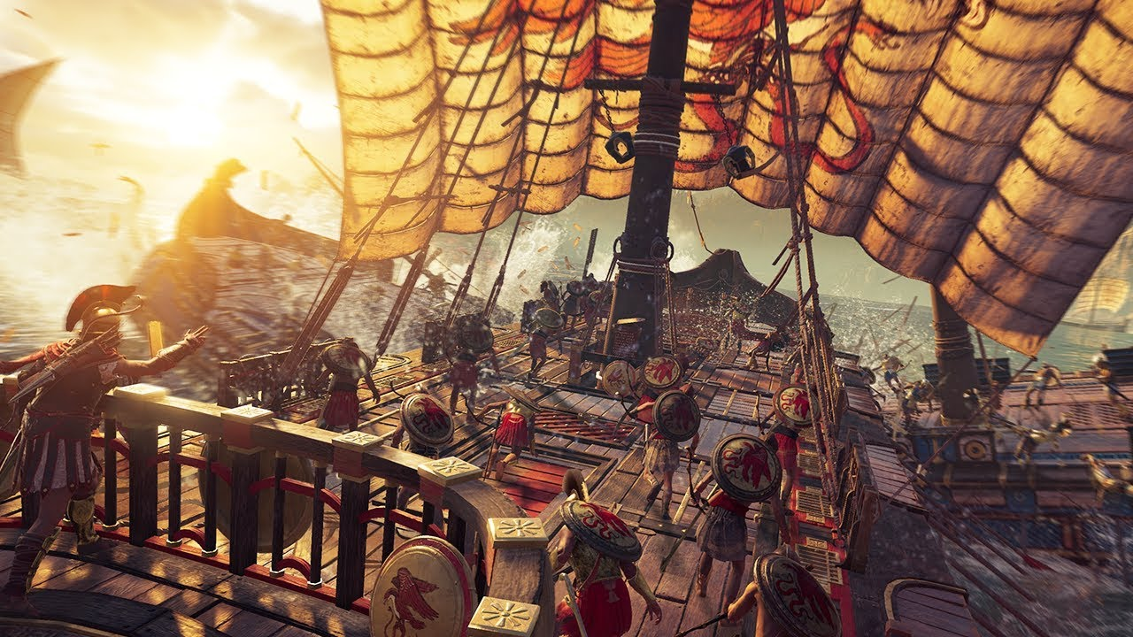 I'm excited for Assassin's Creed: Odyssey and you should be too